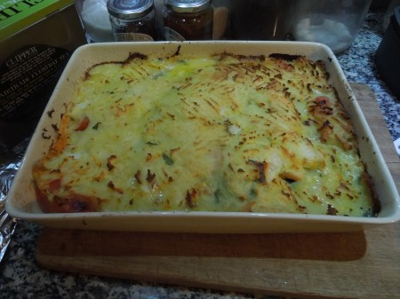 It Was Fish Pie Tonight