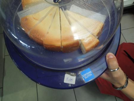 Cake at Pizza Express