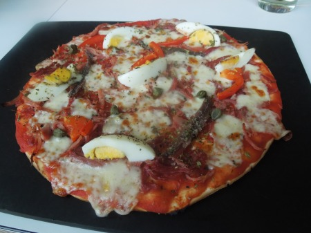 Gluten-Free Pizza At Pizza Express