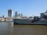 The City and  HMS Belfast
