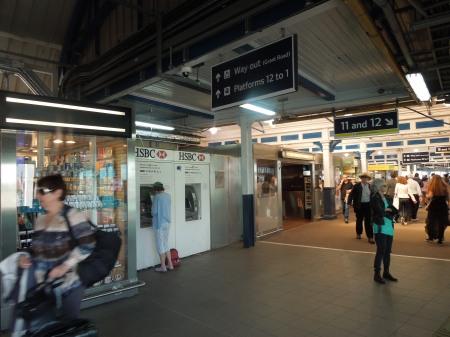 Cashpoints At Clapham Junction