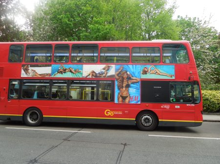 Bikinis On The Buses