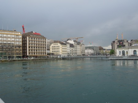 The Rhone At Geneva