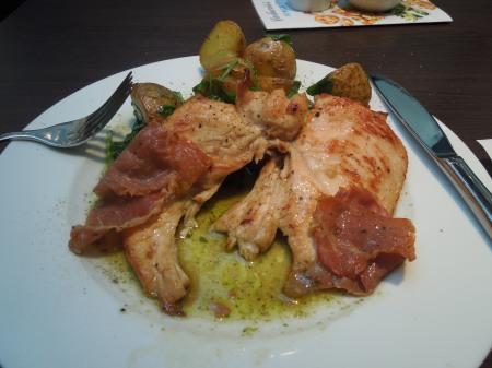 Carluccio's Chicken Saltimbocca
