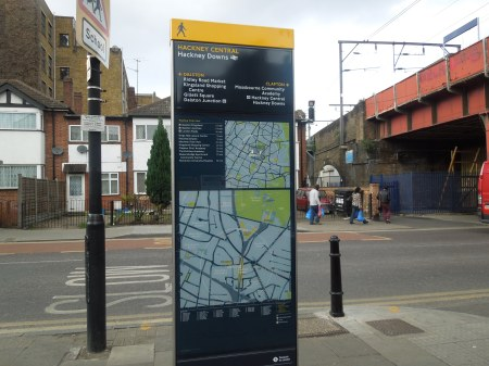 The Hackney Downs Information Board