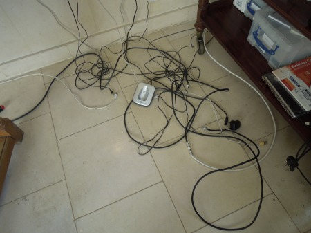 A Mess Of Cables