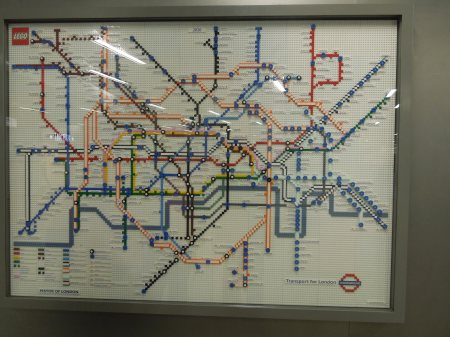Map At Kings Cross