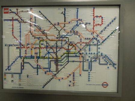 Map At Kings Cross