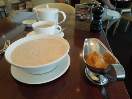 Porridge At Heathrow