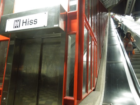 An Inclined Lift