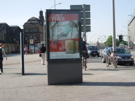 No Maps At Hamburg Station