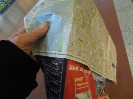 Hamburg's Street Map