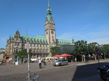 Hamburg's Impressive Rathaus