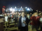 Leaving The Olympic Stadium