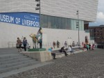 Outside The Museum Of Liverpool