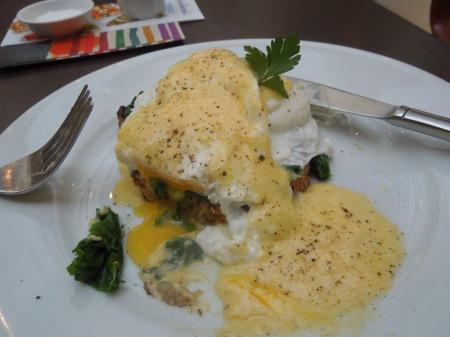 Carluccio's Gluten-Free Eggs Florentine