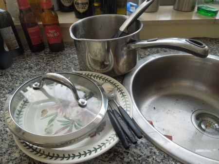 Not Much Washing Up!