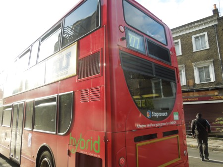 London's Forgotten Route Gets A Hybrid Bus