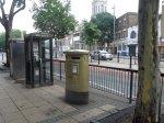 Stratford Has A Gold PillarBox
