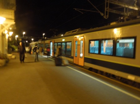A Train Arrives