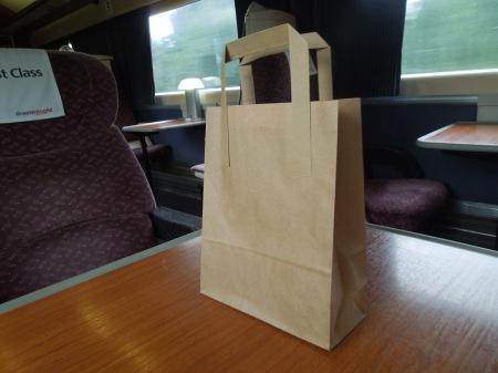 A British Rail Carrier Bag