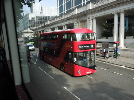Number 11 Goes New Bus For London