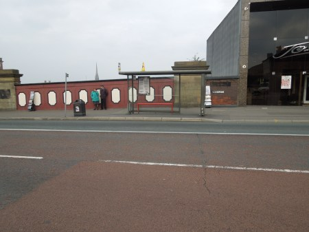 The Bus Stop At Preston Station