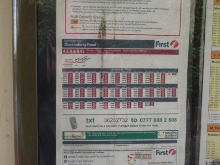 How Not To Do Bus Information