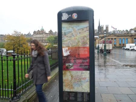 A Solitary Edinburgh Lith