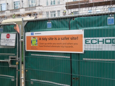 A Tidy Site Is A Safer Site