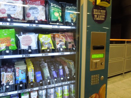 A Vending Machine With Healthy Foods