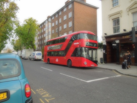 A New Bus For London On Route 27