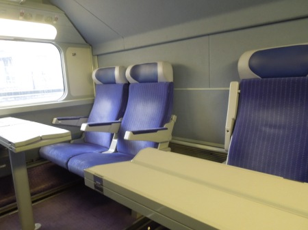 In Second Class On A TGV Duplex