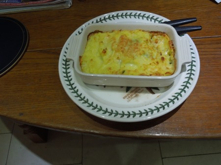 A Second Lazy Fish Pie