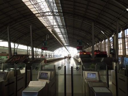 A Virtually Deserted Station