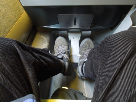 Not Much Legroom