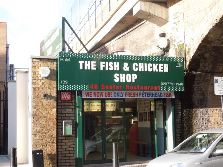 Peterhead fish In London