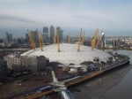 The O2 And Canary Wharf