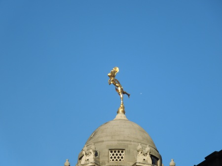 Ariel On The Bank Of England