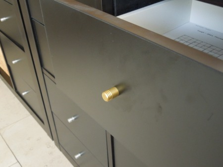Expedit With Brass Knobs
