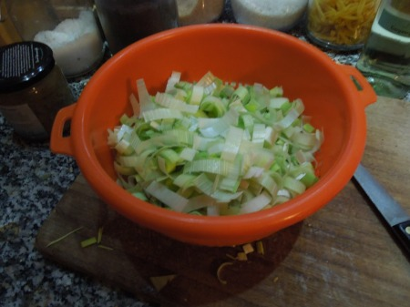 400 g Of Prepared Leeks
