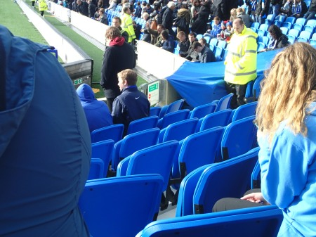Comfy Seats At The AMEX Stadium