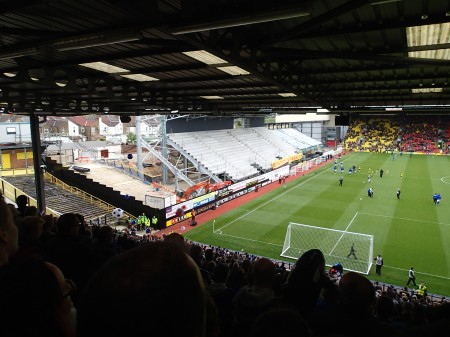 Vicarage Road On The Up