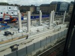 More Assembled Concrete At Custom House Station