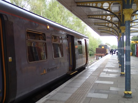 Changing Trains At Ormskirk