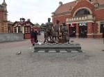 The Kindertransport Sculpture At Gdansk Station