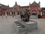 The Kindertransport Sculpture At Gdansk Station