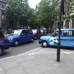 Taxis, Taxis Everywhere, But Not One To Hire