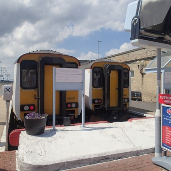 Two Class 156 At Lowestoft