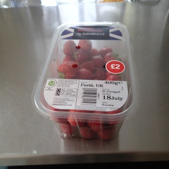 Do These Strawberries Have Truck Or Rail Miles?